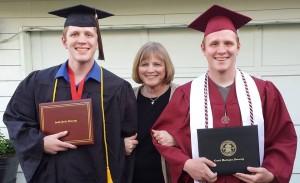 Tobias Graduate Sons Kids Twins